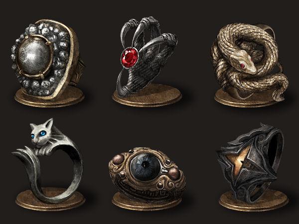 Dark Souls Ringe