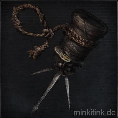 Verspäteter Seil-Molotowcocktail